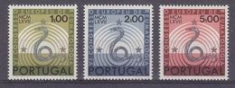 Portugal 1967 Europäischen Rheumatologen Kongress 3v ** Mnh  (44139) - Europese Gedachte