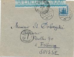 799/29 -- EGYPTE EGYPT WWI CENSORSHIP - Cover PORT SAID 1916 To Suisse - Censor PORT SAID No 2 Black - Égypte