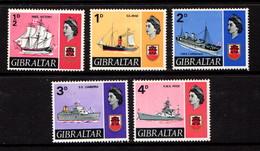 GIBRALTAR    1967    Various  Designs    Part  Set  Of  5    MNH - Gibraltar