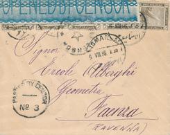 801/29 -- EGYPTE EGYPT WWI CENSORSHIP - Cover ISMAILIA 1916 To RAVENNA Italy - Censor PORT SAID No 3 Black - Égypte