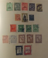 Amerique Du Sud  - Collection Sur Page D'album -  // 14 Scans - Briefmarken