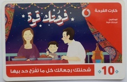 EGYPT - Happiness  Card 10 L.E, Vodafone , [used] (Egypte) (Egitto) (Ägypten) (Egipto) (Egypten) - Egypte