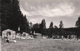 BETRIEBSKINDERFERIENLAGER- OTTO KRESSE-FRIEDRICHSBRUNN- VIAGGIATA  1950 -REAL PHOTO - Thale