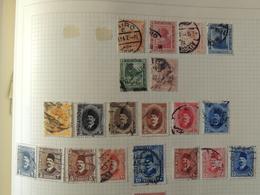 Egypte - Collection Sur Page D'album -  // 4 Scans - Briefmarken