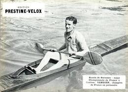 Prestine-Velox 1932 Championnats De France Aviron Rowing Verdier Champion .... En TB.Etat - Autres