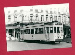 """Photo Mons Place Leopold  =  TRAM  """" 10 """"   Ligne  Mons  Ghlin  Baudour - Photos"""