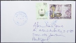 Guine-Bissau - Cover To Portugal Snake India - Serpents