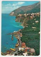VIEW OF SEIANO, SORRENTO, ITALY. POSTED 1965 - Italia