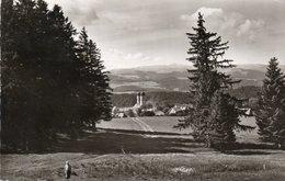 HOHENLUFTKURORT UND WINTERSPORTPLATZ ST. MARGEN- VIAGGIATA  1958 -REAL PHOTO - Freiburg I. Br.