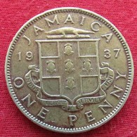 Jamaica 1 Penny 1937  Jamaique - Jamaique