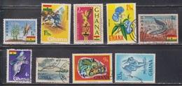 GHANA Scott # 286//96 Used - Various Topics - Ghana (1957-...)