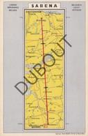 Postkaart/Carte Postale Postkaart Sabena Traject Tussen Haren En Schiphol (N891) - Tienen