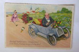 Auto, Männer, Frauen, Blumen,      1928     ♥  - Kinder