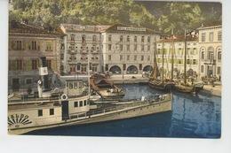 ITALIE - Lago Di Garda - RIVA - Il Porto Col HOTEL BAVIERA & HOTEL BAYERISCHER HOF - Other Cities