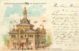 Paris; Exposition De 1900. Pavillon Du Transvaal - Voyagé. (Leopold Verger) - Expositions