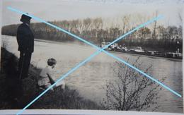 Photo VILVOORDE 30's Péniche Peniche Barge Binnenscheepvaart - Barche
