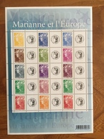 Bloc Feuillet Marianne De L'Europe Personnalisé Cérès Y&T F4226A - 2008 - Neufs ** - Mint/Hinged