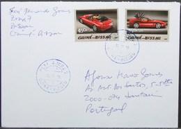 Guine-Bissau - Cover To Portugal Cars Ferrari - Autos