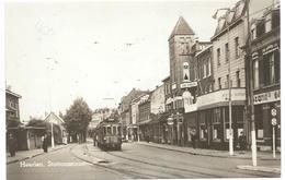 Heerlen Stationsstraat Tram Tramway Strassenbahn Trolley Station Gare Bahnhof LTM 1946 - Heerlen