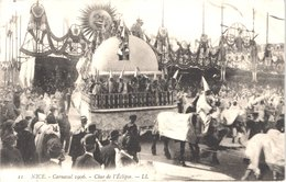FR06 NICE - LL 11 - Carnaval 1906 - Char De L'éclipse - Animée - Belle - Carnevale