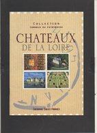 Timbres Du Patrimoine / Plaquette Et Planches De 42 Vignettes Gommées Des Châteaux De La Loire - Tourisme (Vignettes)