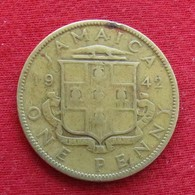 Jamaica 1 Penny 1942  Jamaique  #3 - Jamaique
