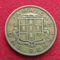 Jamaica 1 Penny 1945  Jamaique  #1 - Jamaique