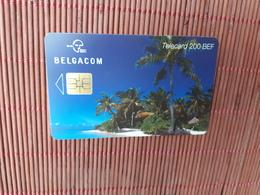 Phonecard Beach  Used - Belgique
