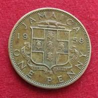 Jamaica 1 Penny 1958  Jamaique  #2 - Jamaique
