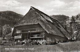 ALTES SCHWARZWALDHAUS IN GUTACH- VIAGGIATA 1968-REAL PHOTO - Gutach (Schwarzwaldbahn)