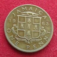 Jamaica 1 Penny 1963  Jamaique  #2 - Jamaique