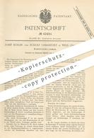Original Patent - Josef Koller , Rudolf Urbanitzky , Wels , Österreich 1887 , Elektrische Lampe   Lampen , Licht , Strom - Historische Dokumente