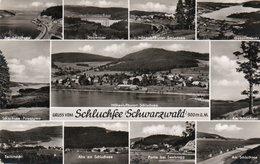 GRUSS VOM SCHLUCHSEE SCHWARZWALD- VIAGGIATA 1958-REAL PHOTO - Schluchsee