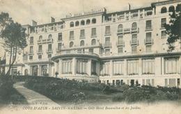 Saint-Maxime 1914; Golf Hôtel Beauvallon Et Les Jardins - Voyagé. (Maximois F. Solon) - Saint-Maximin-la-Sainte-Baume