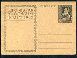 """Deutsches Reich / 1942 / Sonderpostkarte """"Europaeischer Postkongress"""" Mi. P 294 ** (23290) - Deutschland"""