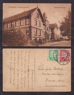 Deustches Reich - 1925 - Brief - Postkarte - Furtwangen - Uhrenmacherschule - Germany