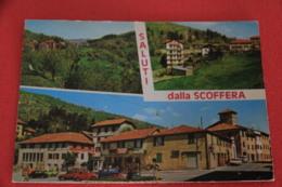 Genova Scoffera Vedutine Con 1 Con T Tabacchi Vedi In Basso 1981 - Altre Città