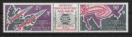 TAAF 1975 Poste Aérienne N° 41A  Triptyque  N * * Luxe  TTB - Lots & Serien