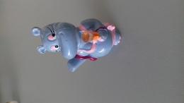 FIGURINE FERRERO HIPPOPOTAME 92 BIKINI CHAMPAGNE - Figurines