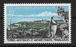 TAAF 1968  Poste Aérienne N° 14  N ** Luxe  TTB - Luftpost