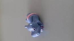 FIGURINE FERRERO HIPPOPOTAME 92 BRONZETTE MAILLOT ROSE - Figurines