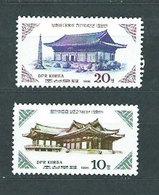 Corea Del Norte - Correo 1986 Yvert 1812/3 ** Mnh - Corea Del Norte