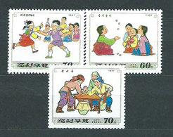 Corea Del Norte - Correo 1997 Yvert 2709/11 ** Mnh  Juegos Infantiles - Corea Del Norte