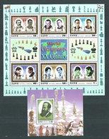 Corea Del Norte - Hojas 2001 Yvert 393/4 ** Mnh  Ajedrez - Corea Del Norte
