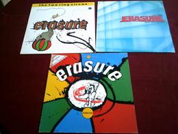 ERASURE°° COLLECTION DE 7 VINYLES ° 1 / 33 TOURS + 4 MAXIS 45 TOURS + 2 DOUBLE MAXI - Colecciones Completas