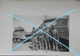 Photo British Army Royal Tank Corps Char Tank GRANT Egypt 1944 Militaria Leger Armée Uniforme - War, Military