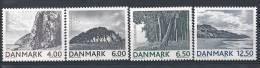 Danemark 2002 Série Neuve  N° 1311/1314 Paysages - Denmark