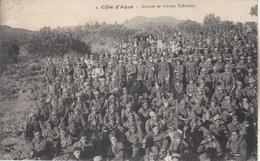 Groupe De Soldats Tahitiens - Côte D'Azur - France