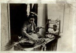 FILATURE OR SILK MILL STEAM INTERIOR OF MILL   JAPAN JAPON  16*12CM Fonds Victor FORBIN 1864-1947 - Profesiones