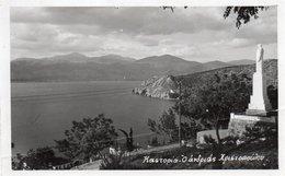 GREECE-CASTORIA-  VIAGGIATA 1954-REAL PHOTO - Grecia